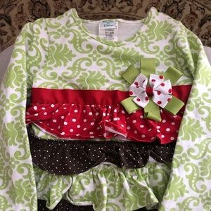 Peaches N Cream girl's outfit size 4